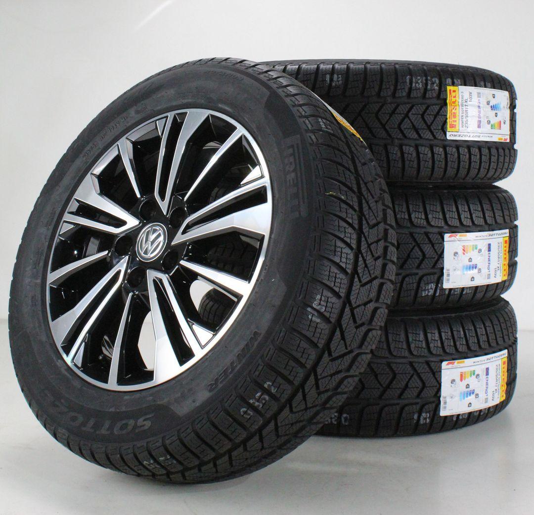 VW T6 T6.1 Multivan Winterräder Aracaju schwarz Alufelgen 17 Zoll 7LA601025E NEU