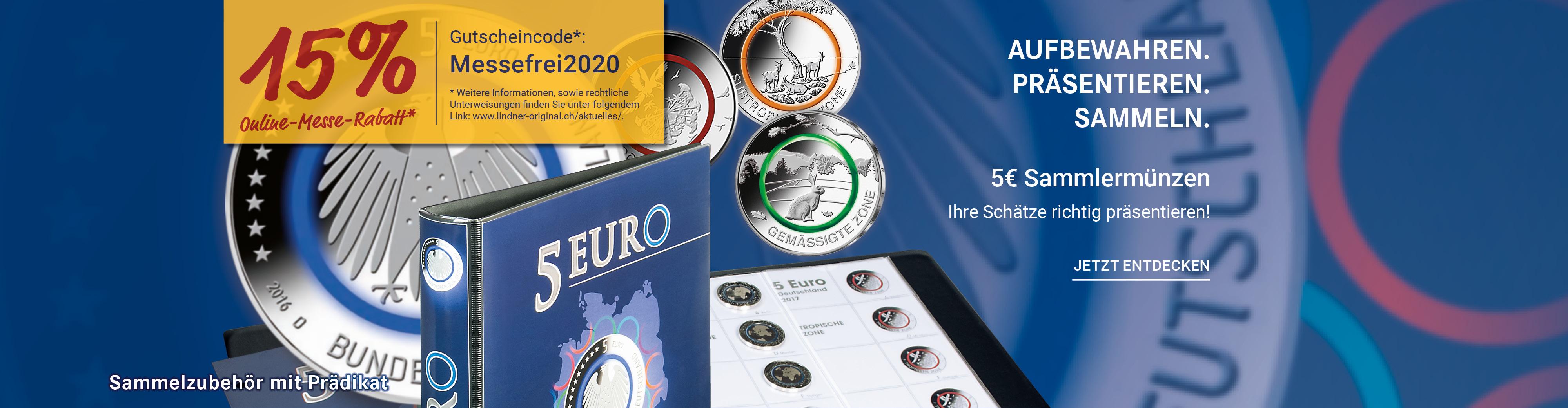 5€ Sammlermünzen