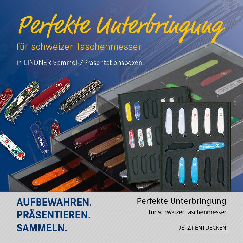 Perfekte Unterbringung für schweizer Taschenmesser