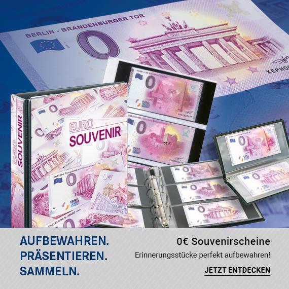 0€ Souvenirscheine