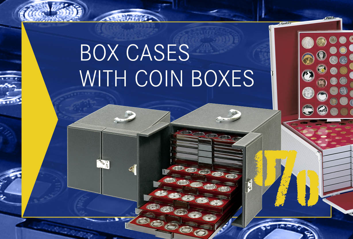 Box Cases with Coin Boxes