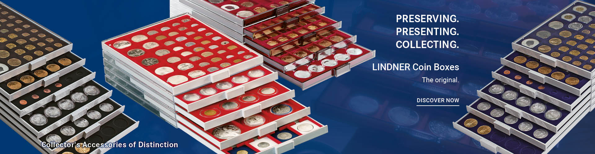 LINDNER COIN BOXES