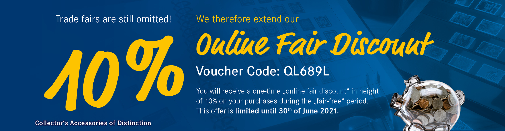 10% Online Fair Discount