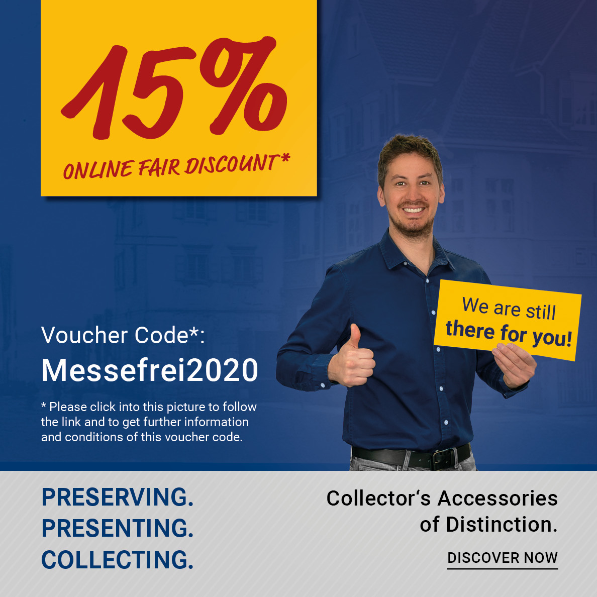 Online Fair Discount: Messefrei2020