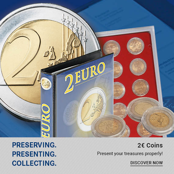 2 EURO-COMMEMORATIVE COINS