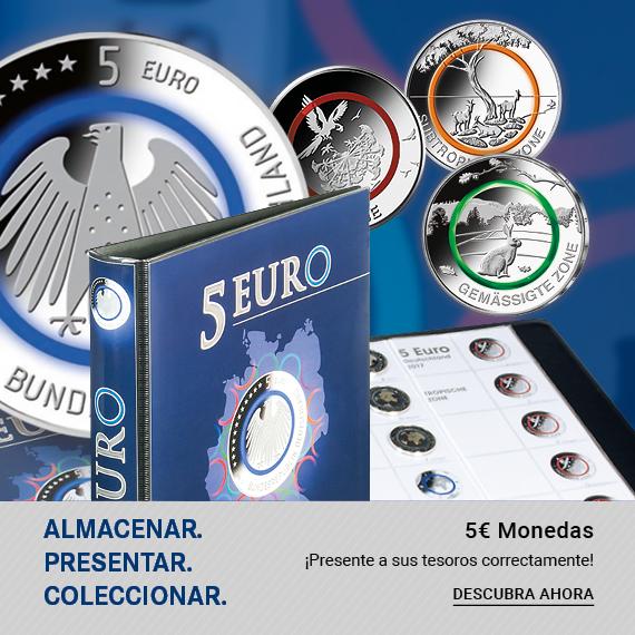Monedas de 5 euros