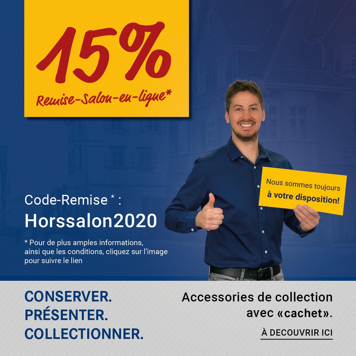 Code-Remise: Horssalon2020