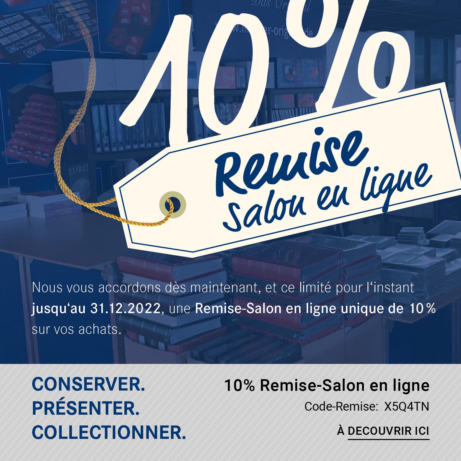 10% Remise-Salon en ligne