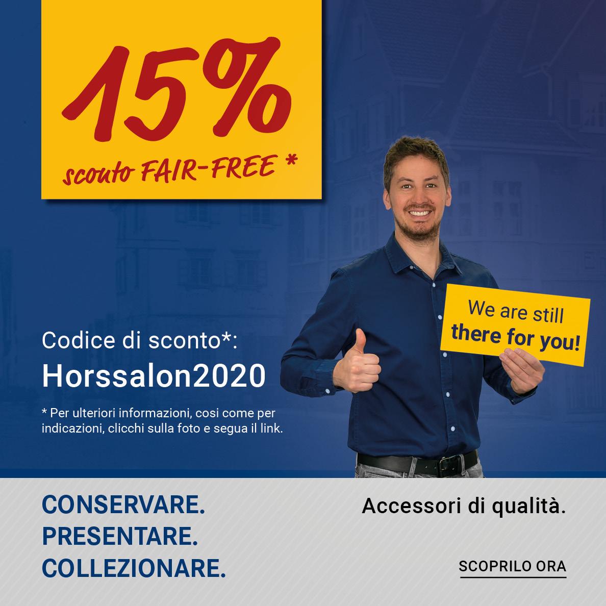 sconto-FAIR-FREE: Horssalon2020