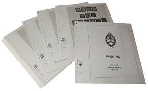 Argentinien - Vordruckalbum Jahrgang 1858-1951