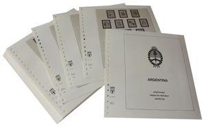 Argentinien - Vordruckalbum Jahrgang 1985-1991