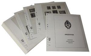 Argentinien - Vordruckalbum Jahrgang 1999-2003