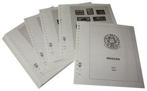 Brésil - Feuilles pré-imprimées Année 1987-1993