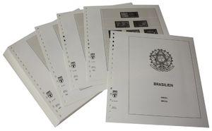 Brésil - Feuilles pré-imprimées Année 1994-2000