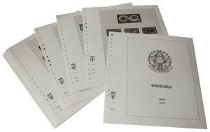 Brésil - Feuilles pré-imprimées Année 2001-2007