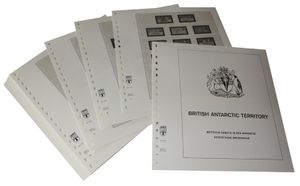British Antarctic Territory - Illustrated album pages Year 1963-2008