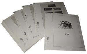 Chile - Vordruckalbum Jahrgang 1992-1998