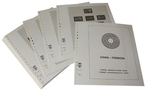 China - Taiwan (Formosa) with postage dues 1948-1998 - Illustrated album pages Year 1976-1981