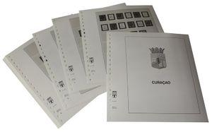 Curaçao - Feuilles pré-imprimées Année 1873-1949