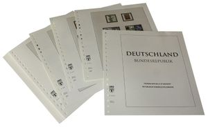 Germany - Illustrated album pages Year 2005-2009