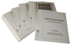 Германия, малые листы ( десятичные блоки). Иллюстрированный альбом—выпуск  за 1989-1991 годы