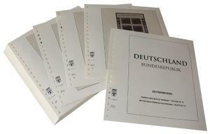 Deutschland Kleinbogen (Zehnerbogen) - Vordruckalbum Jahrgang 1994-1995
