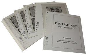 Германия, малые листы ( десятичные блоки). Иллюстрированный альбом—выпуск  за 1996 год
