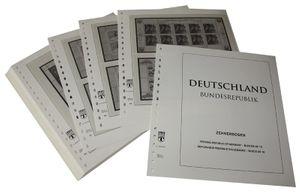 Германия, малые листы ( десятичные блоки). Иллюстрированный альбом—выпуск  за 1997 год