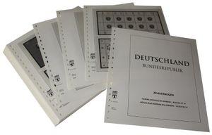 Deutschland Kleinbogen (Zehnerbogen) - Vordruckalbum Jahrgang 2000