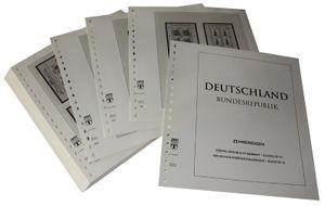 Германия, малые листы ( десятичные блоки). Иллюстрированный альбом—выпуск  за 2001 год