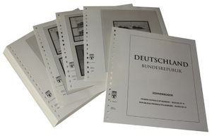 Deutschland Kleinbogen (Zehnerbogen) - Vordruckalbum Jahrgang 2002