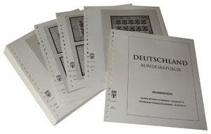 Germania minifogli (foglietti da 10) - Album prestampati Anno 2005