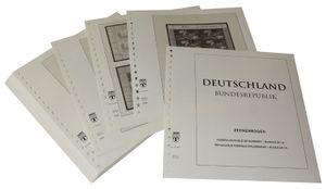 Germania minifogli (foglietti da 10) - Album prestampati Anno 2007