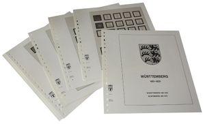 Deutschland Württemberg - Vordruckalbum Jahrgang 1851-1923