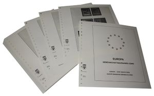 Europe special territories Europe CEPT Joint Issues of EU Countries - Illustrated album pages Year 1993-1999