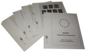 Europe special territories Europe CEPT Joint Issues of EU Countries - Illustrated album pages Year 2000-2006