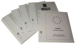 Europe special territories Europe Issues and NORDEN - Illustrated album pages Year 1993-2005