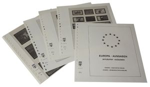 Europe special territories Europe Issues and NORDEN - Illustrated album pages Year 2006-2015