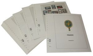 France - Illustrated album pages Year 1977-1983