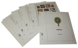 France - Illustrated album pages Year 2003-2005