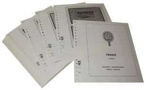 France Booklets - Illustrated album pages Year 1952-2009