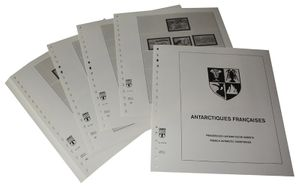 French Antarctic Territories - Illustrated album pages Year 1998-2012