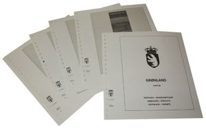 Greenland Booklets - Illustrated album pages Year 1989-2014