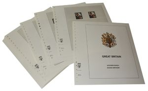 Great Britain - Illustrated album pages Year 1981-1989