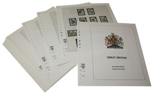 Great Britain - Illustrated album pages Year 1998-2004