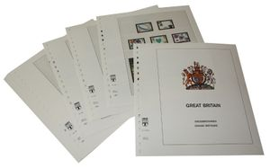 Great Britain - Illustrated album pages Year 2005-2008
