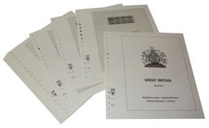 Great Britain Booklets - Illustrated album pages Year 1982-1998