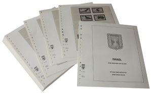 Israël sans tabs et blocs - Feuilles pré-imprimées Année 1985-2002