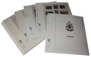 Canada - Illustrated album pages Year 2003-2008