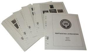 Kirghizistan - Album prestampati Anno 1992-2002